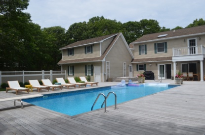 WAINSCOTT BEAUTY NEAR OCEAN BEACHES AND SET BACK WITH PRIVATE RD